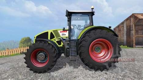 CLAAS Axion 950 v1.2 for Farming Simulator 2015