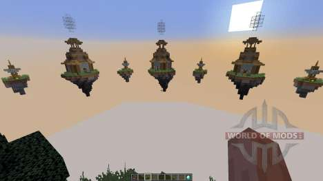 Map Castle Minecraft Skywars for Minecraft