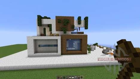 MODERN HOUSE SD 2 for Minecraft
