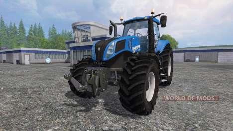 New Holland T8.320 v2.4 for Farming Simulator 2015