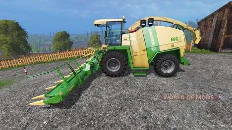 Krone Big X 1100 [inluding cutters] for Farming Simulator 2015