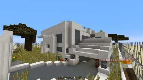ECO Minecraft Ecological House Project for Minecraft