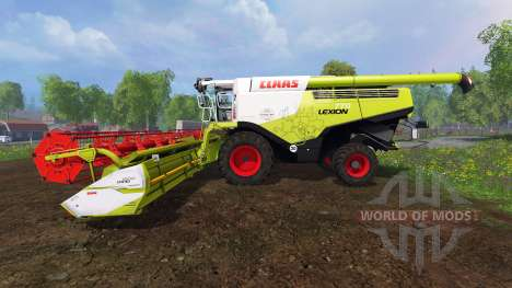 CLAAS Lexion 770 [washable] v2.0 for Farming Simulator 2015