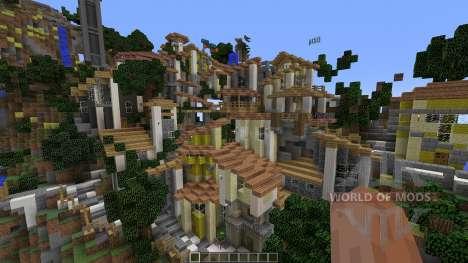 Zah Saint Lucca for Minecraft