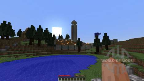 The 1000 Meter War for Minecraft
