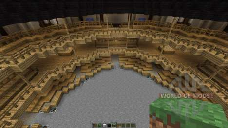 Shakespeares Globe Theatre in London for Minecraft