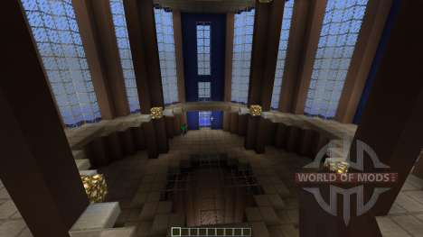 Unreal Tournament 1999 PvP DM-Fractal for Minecraft