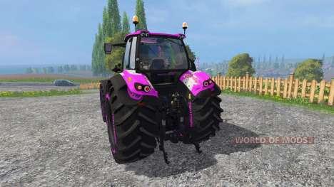 Deutz-Fahr Agrotron 7250 hello kitty for Farming Simulator 2015