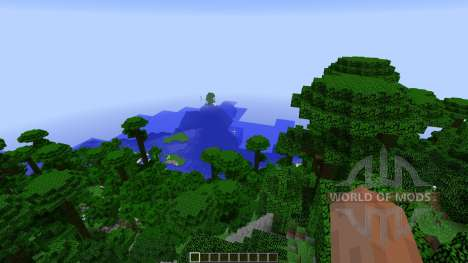 Paradise Island for Minecraft