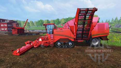 Grimme Maxtron 620 v1.0 for Farming Simulator 2015