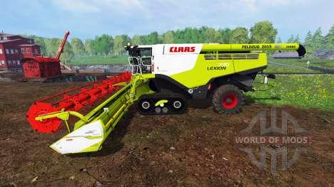 CLAAS Lexion 770TT for Farming Simulator 2015