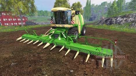 Krone Big X 1100 [beast] v12.0 for Farming Simulator 2015