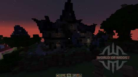 Fantasy House Pack 5 houses for Minecraft