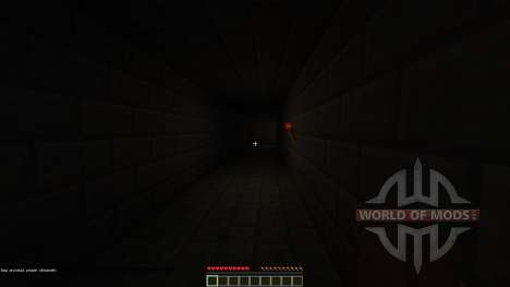 Left Alone Horror Map for Minecraft