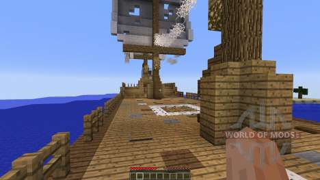 Berg Bol Island-Survival Map for Minecraft