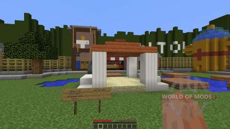Toontown for Minecraft