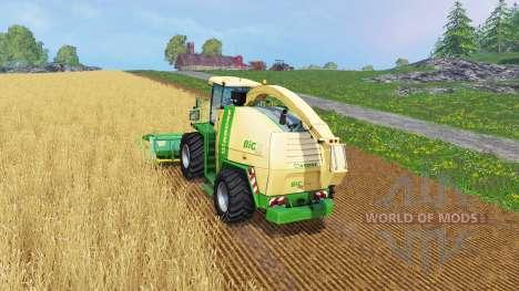 Krone Big X 1100 [128000 liters] for Farming Simulator 2015