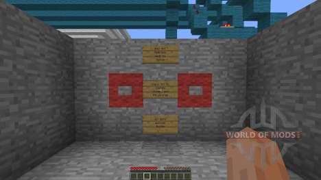 Quarto 2 player strategy game for Minecraft