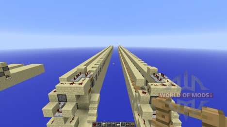 Minecraft Fast and cheap Piston Traveling for Minecraft