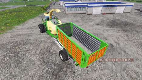 Krone Big X 1100 Hkl for Farming Simulator 2015