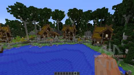 Viking Lake Town for Minecraft