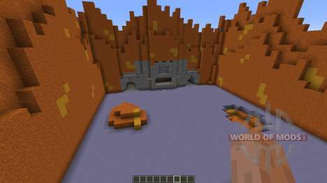 Red Cliffs for Minecraft