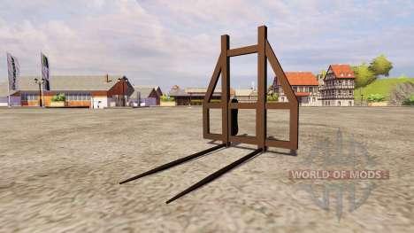 Fork bale v2.0 for Farming Simulator 2013