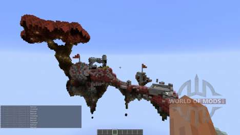 Fly over CTW Map for Minecraft