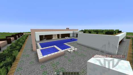Modern House for Minecraft
