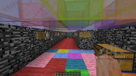 Single player spleef for Minecraft