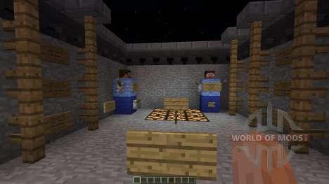 Trench War minigame for Minecraft