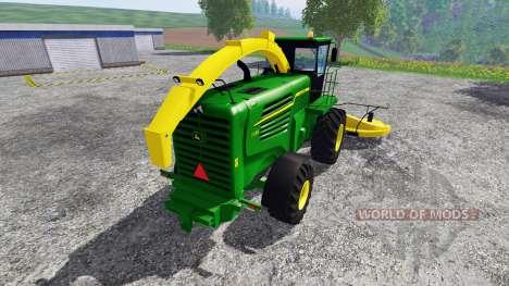 John Deere 7180 v1.1 for Farming Simulator 2015