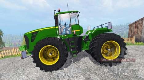 John Deere 9630 terra tires for Farming Simulator 2015