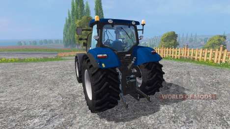 New Holland T7.270 blue power v1.1 for Farming Simulator 2015