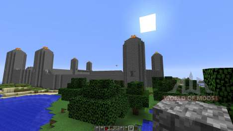 Unfinished City for Minecraft