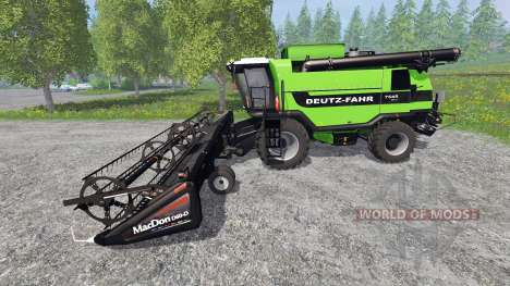 Deutz-Fahr 7545 RTS v1.3 for Farming Simulator 2015