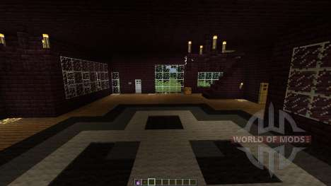Infernal house MEGA Planet for Minecraft