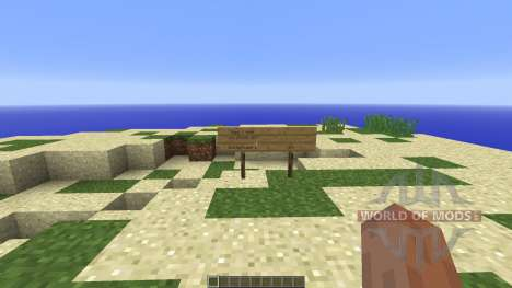 Survival Island STEVE STYLE for Minecraft