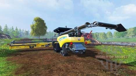 New Holland CR10.90 [crawler] v3.0 for Farming Simulator 2015