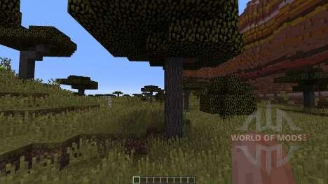Mesa Savannah Canyons for Minecraft