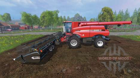 Case IH Axial Flow 9230 [dynamic front wheels] for Farming Simulator 2015