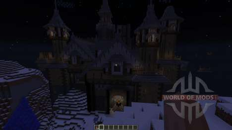 Castle on the White Lake for Minecraft