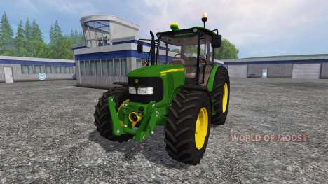 John Deere 5080M for Farming Simulator 2015