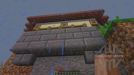 Jungle Mountain House for Minecraft