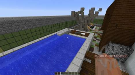 E A Modern Mansion for Minecraft