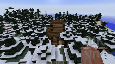 Small winter home for Minecraft