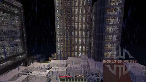 LeafCREEP City for Minecraft