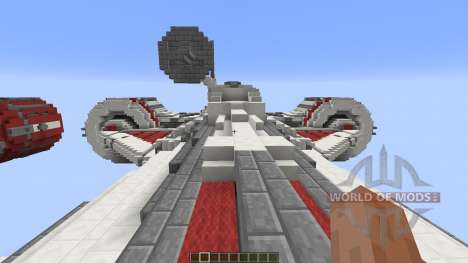 Star Wars Galactic Republic ConsularClass Cruis for Minecraft