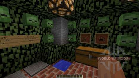 Zombie Survival Map for Minecraft