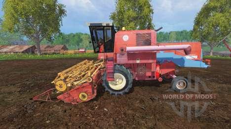 Bizon Z056 for Farming Simulator 2015